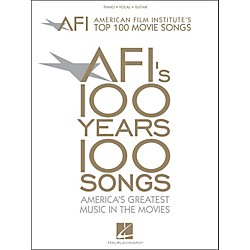 Hal Leonard American Film Institute's Top 100 Movie Songs arranged for piano, vocal, and guitar (P/V/G) (311176)