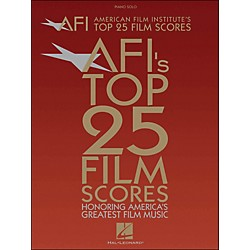 Hal Leonard American Film Institute's Top 25 Film Scores arranged for piano, vocal, and guitar (P/V/G) (311408)