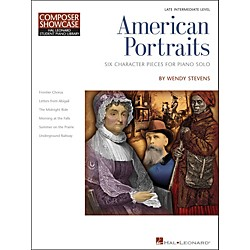Hal Leonard American Portraits - Six Character Pieces For Piano Solo - Composer Showcase Intermediate (296817)
