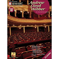 Hal Leonard Andrew Lloyd Webber - Jazz Play-Along Volume 83 (CD/Pkg) (843104)