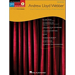 Hal Leonard Andrew Lloyd Webber - Pro Vocal Songbook Men's Edition Volume 11 Book/CD (740349)