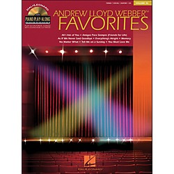 Hal Leonard Andrew Lloyd Webber Favorites Volume 26 Book/CD Piano Play-Along arranged for piano, vocal, and guit (311178)
