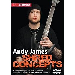 Hal Leonard Andy James Shred Concepts DVD Lick Library (109248)
