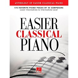 Hal Leonard Anthology Of Easier Classical Piano - 174 Favorite Pieces By 44 Composers (121510)