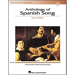Hal Leonard Anthology Of Spanish Songs For Low Voice (The Vocal Library Series) (740148)