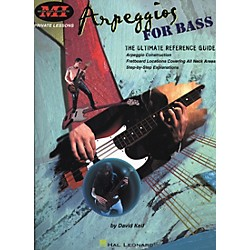 Hal Leonard Arpeggios for Bass Book (695133)