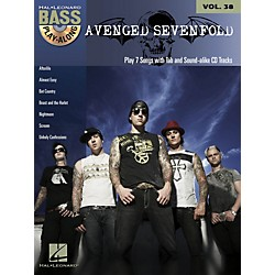 Hal Leonard Avenged Sevenfold - Bass Play-Along Volume 38 Book/CD (702386)