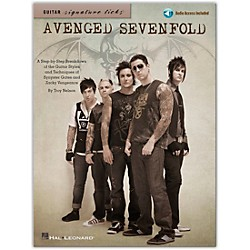 Hal Leonard Avenged Sevenfold - Guitar Signature Licks Book/CD (696473)