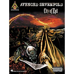 Hal Leonard Avenged Sevenfold City of Evil Guitar Tab Songbook (690820)