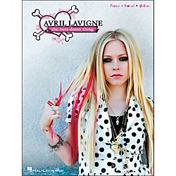 Hal Leonard Avril Lavigne The Best Damn Thing arranged for piano, vocal, and guitar (P/V/G) (306900)