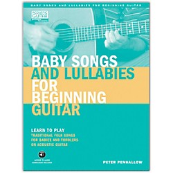 Hal Leonard Baby Songs And Lullabies For Beginning Guitar (Book/CD Package) (696420)
