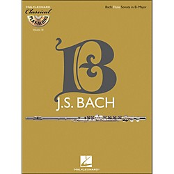 Hal Leonard Bach: Flute Sonata In E-Flat Major, Bwv 1031 - Classical Play-Along (Book/CD) Vol. 18 (842450)