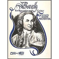 Hal Leonard Bach For Recorder And Guitar (For Soprano Or Tenor Recorder) (6050)