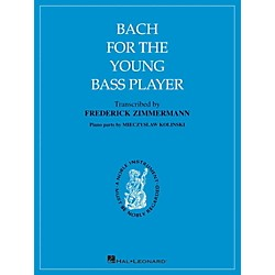 Hal Leonard Bach For The Young Bass Player By Bach (121946)