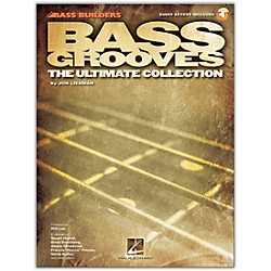 Hal Leonard Bass Grooves - The Ultimate Collection (Book/CD) (696028)