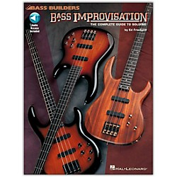 Hal Leonard Bass Improvisation (Book/CD) (695164)