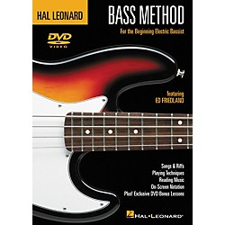 Hal Leonard Bass Method (DVD) (695849)