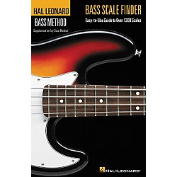 Hal Leonard Bass Scale Finder(Book) (695781)