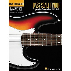 Hal Leonard Bass Scale Finder Book (695778)