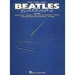 Hal Leonard Beatles Ballads Piano, Vocal, Guitar Songbook (308236)