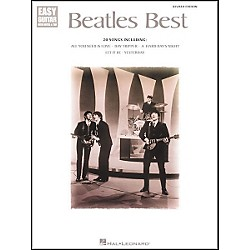 Hal Leonard Beatles Best Easy Guitar Tab Book (699665)