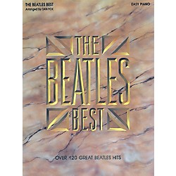 Hal Leonard Beatles Best for Easy Piano (364092)