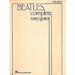 Hal Leonard Beatles Complete Easy Guitar Songbook (696082)