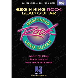 Hal Leonard Beginning Rock Lead Guitar (DVD) (320410)