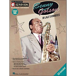 Hal Leonard Benny Golson Volume 55 Book/CD 10 Jazz Favorites Jazz Play Along (843052)