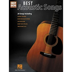 Hal Leonard Best Acoustic Songs - Easy Guitar With Notes & Tab Series (702232)