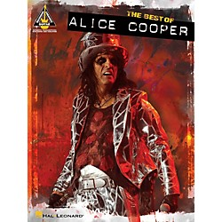 Hal Leonard Best Of Alice Cooper Guitar Tab Songbook (691091)
