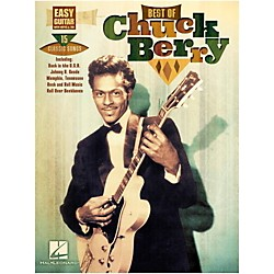 Hal Leonard Best Of Chuck Berry Easy Guitar With Tab (125796)