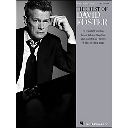 Hal Leonard Best Of David Foster - 2nd Edition arranged for piano, vocal, and guitar (P/V/G) (313016)