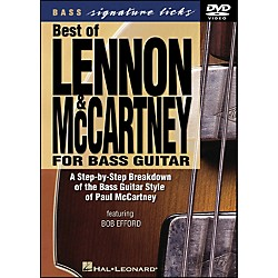 Hal Leonard Best Of Lennon & McCartney For Bass Guitar Signature Licks DVD (320334)