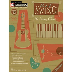 Hal Leonard Best Of Swing--Jazz Play Along Volume 32 Book with CD (843025)