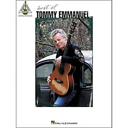 Hal Leonard Best Of Tommy Emmanuel Tab Book (690909)