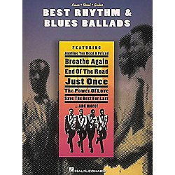 Hal Leonard Best Rhythm & Blues Ballads Piano, Vocal, Guitar Songbook (310000)