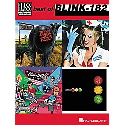 Hal Leonard Best of Blink-182 Bass Tab Songbook (690549)