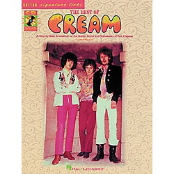 Hal Leonard Best of Cream Guitar Tab Songbook with CD & Lessons (695251)