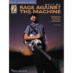Hal Leonard Best of Rage Against The Machine Signature Licks Book with CD (695480)