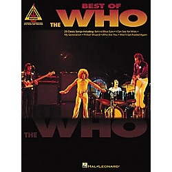 Hal Leonard Best of The Who Guitar Tab Book (690447)