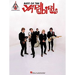 Hal Leonard Best of The Yardbirds Guitar Tab Songbook (690596)