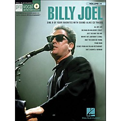 Hal Leonard Billy Joel - Pro Vocal Songbook & CD For Male Singers Volume 34 (740373)
