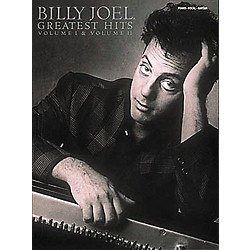 Hal Leonard Billy Joel  Greatest Hits Volume 1 & 2 Piano, Vocal, Guitar Songbook (356299)