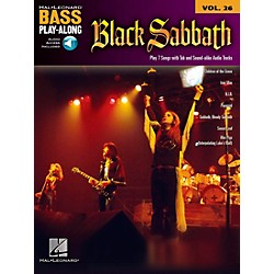 Hal Leonard Black Sabbath Bass Play-Along Volume 26 Book/CD (701180)