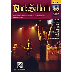 Hal Leonard Black Sabbath Guitar Play-Along Series Volume 15 DVD (320606)