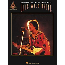 Hal Leonard Blue Wild Angel Jimi Hendrix Live at the Isle of Wight Guitar Tab Songbook (690608)