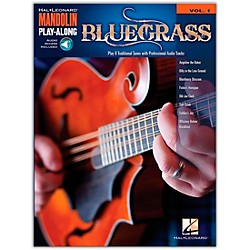 Hal Leonard Bluegrass - Mandolin Play-Along Volume 1 Book/CD (702517)