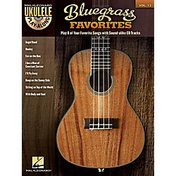 Hal Leonard Bluegrass Favorites - Ukulele Play-Along Vol. 12 Book/CD (702584)