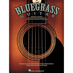Hal Leonard Bluegrass Guitar - 10 Solo Classics For Flatpicking and Fingerstyle (Book/CD) (700184)